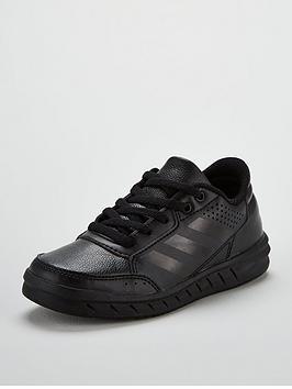 adidas-alta-sport-childrens-trainers-black