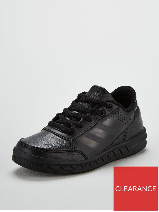 91aa062d27e3 adidas Alta Sport Childrens Trainers - Black | very.co.uk