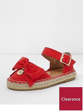 river-island-mini-girls-red-bow-top-espadrille-sandals