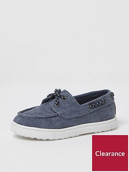 river-island-mini-boys-blue-washed-canvas-boat-shoes