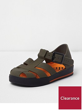 river-island-mini-boys-khaki-jelly-cage-sandals