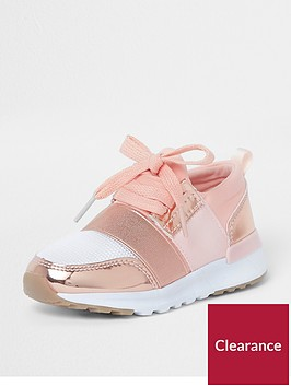 river-island-mini-girls-rose-gold-metallic-runner-trainers