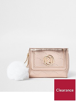 river-island-girls-rose-gold-metallic-ri-monogram-purse