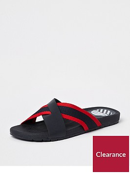 river-island-boys-navy-stripe-cross-over-flip-flops