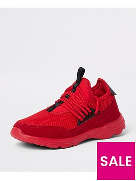 river-island-red-runner-trainers