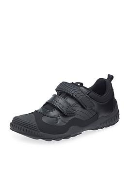 start-rite-older-boys-velcro-strap-school-shoe-black