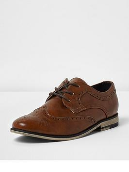 river-island-boys-tan-brogues