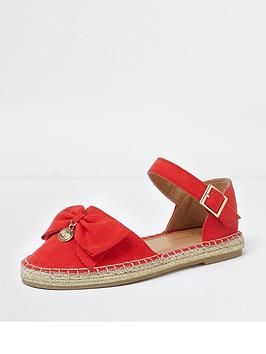 river-island-girls-red-bow-top-espadrille-sandals