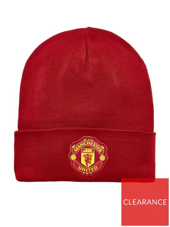 on sale 31a3b 3a376 adidas Manchester United Beanie Hat