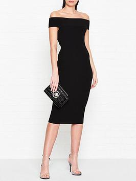 mcq-alexander-mcqueen-bandeau-bodycon-dress-black