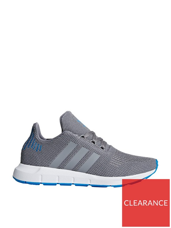 bdd6fbed9c904 adidas Originals Swift Run Junior Trainer - Grey Blue