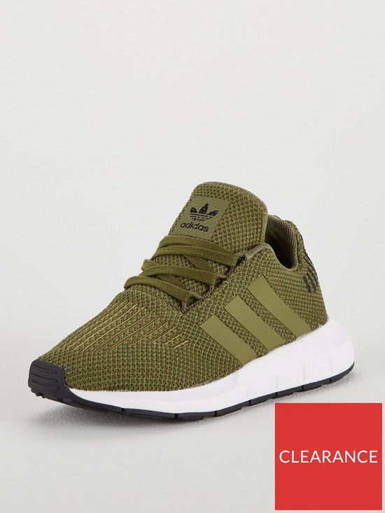 8385b9abebc4a adidas Originals Swift Run Childrens Trainer - Khaki