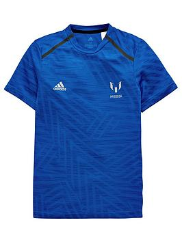 adidas-youth-messi-tee-blue