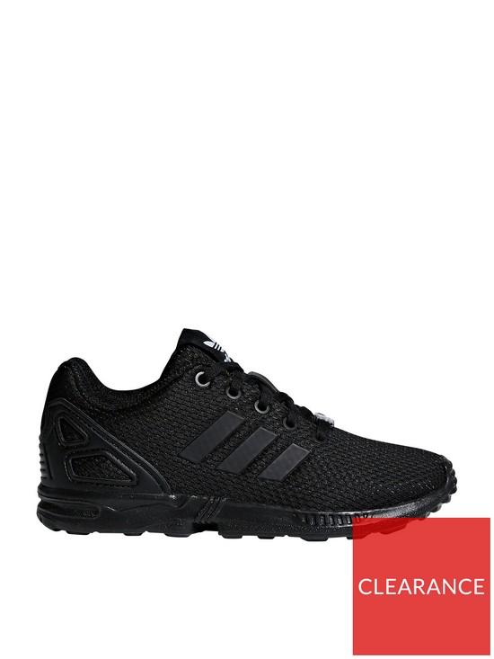 fc31c9ff3 adidas Originals ZX Flux Childrens Trainer - Black