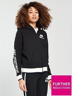 nike-sportswear-archive-full-zipnbsphoodienbsp--black