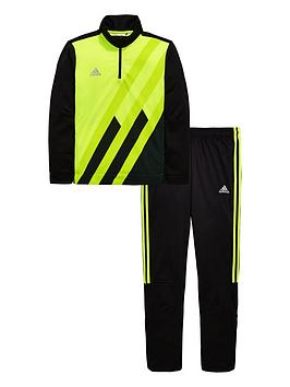 adidas-youth-x-tracksuit-yellowblack