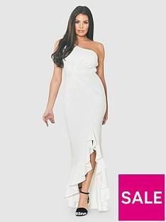 jessica-wright-one-shoulder-thigh-split-frill-maxi-dress-whitenbsp