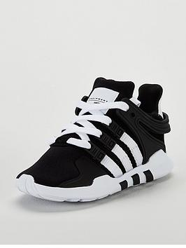 adidas-originals-eqt-support-infant-trainer-blackwhitenbsp