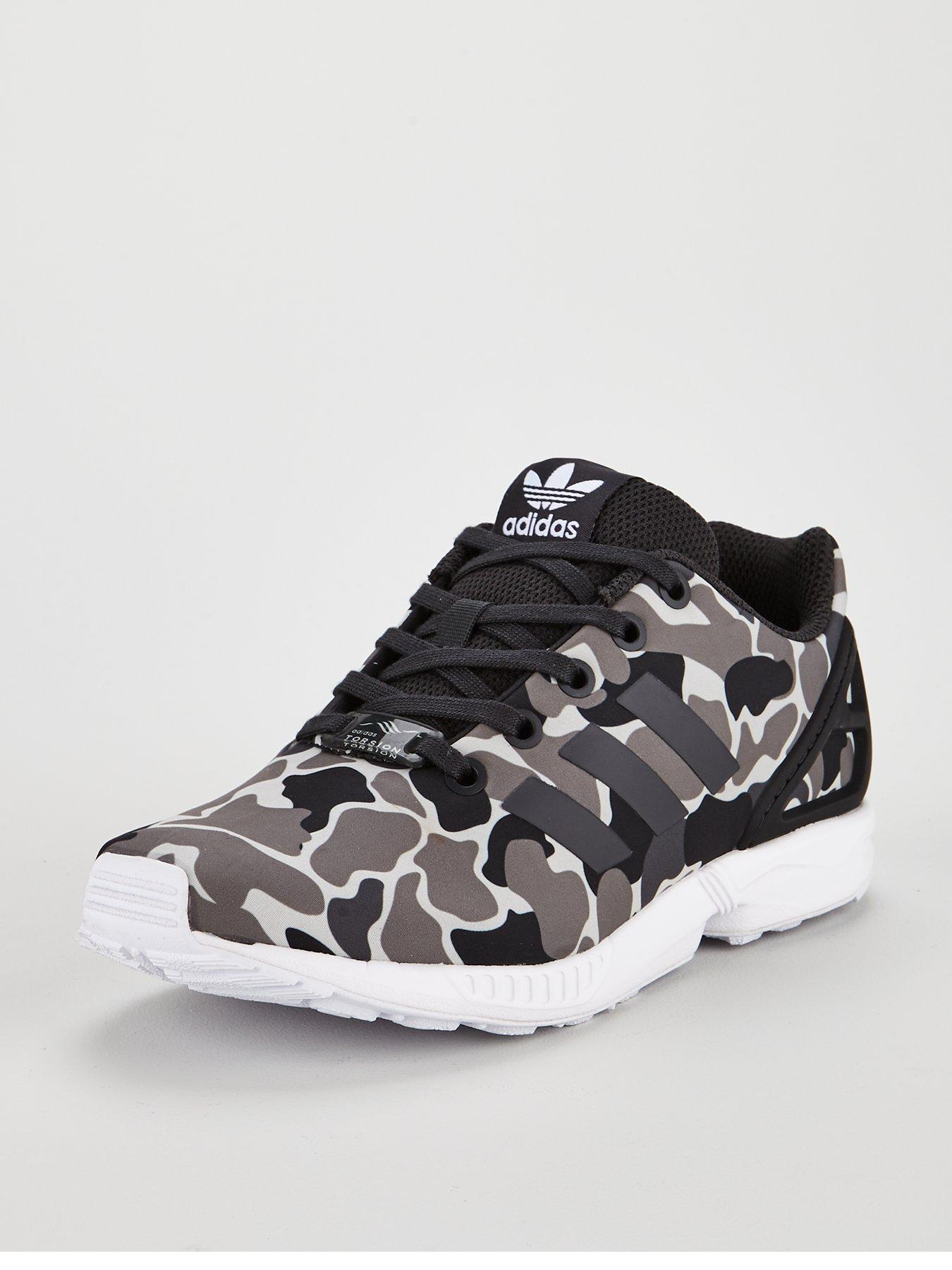 6a9d0e72b5eac ... discount adidas originals zx flux junior trainer camo d687d 495f8