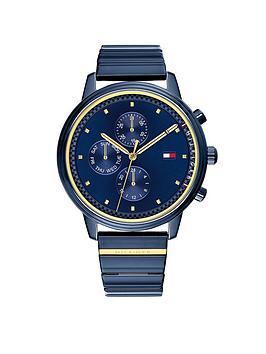 Tommy Hilfiger Tommy Hilfiger Navy Multi-Eye Dial, Navy Ip Stainless Steel Bracelet Ladies Watch thumbnail