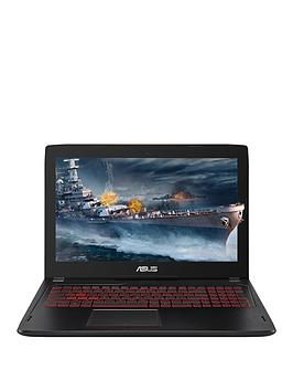 Image of Asus Gaming Fx502 Intel Core I7, 16Gb Ram, 1Tb Hard Drive &Amp; 256Gb Ssd, 15.6 Inch Full Hd Gaming Laptop With Geforce Gtx 1050 4Gb Graphics - Black