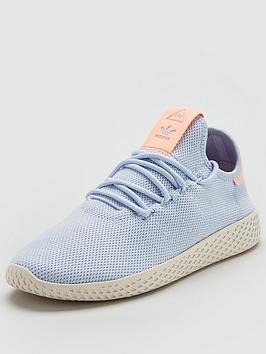 adidas-originals-pharrell-williamsnbsptennis-hu-bluecoralnbsp