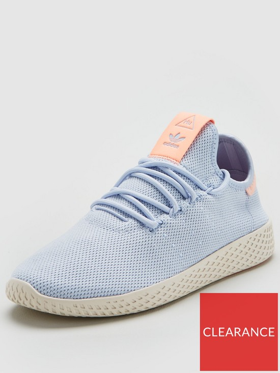 57e833725 adidas Originals Pharrell Williams Tennis HU - Blue Coral