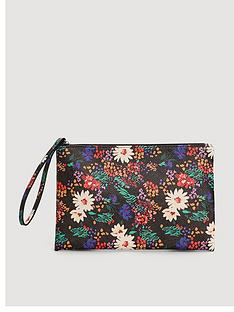 mango-floral-cosmetic-bag