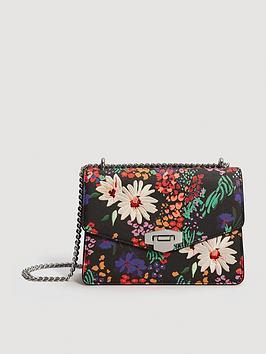 mango-floral-bag-black