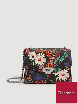 mango-floral-bag-black
