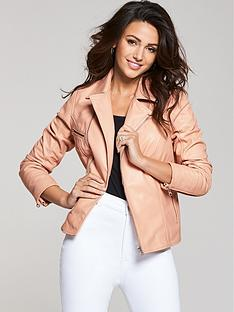 michelle-keegan-blush-premium-biker-jacket