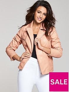 michelle-keegan-blush-premium-biker-jacket