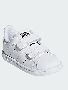 adidas-originals-stan-smith-infant-trainer-whiteiridescent