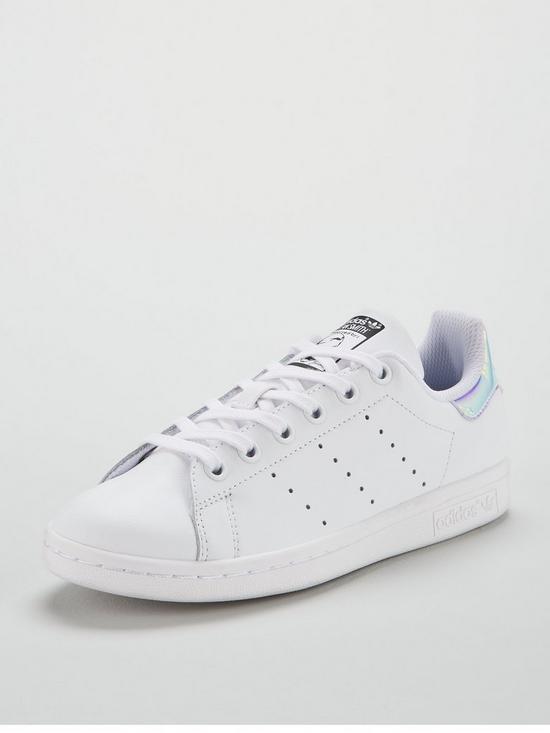 reputable site a6470 25948 adidas Originals Stan Smith Junior Trainer - WhiteIridescent