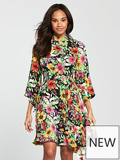 v-by-very-unique-mixed-print-cutoutnbspback-dress