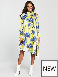 v-by-very-unique-asymmetric-printed-frill-dress