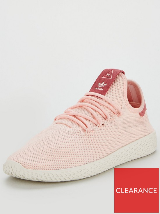 size 40 17831 0d406 adidas Originals Pharrell Williams Tennis HU - Pink