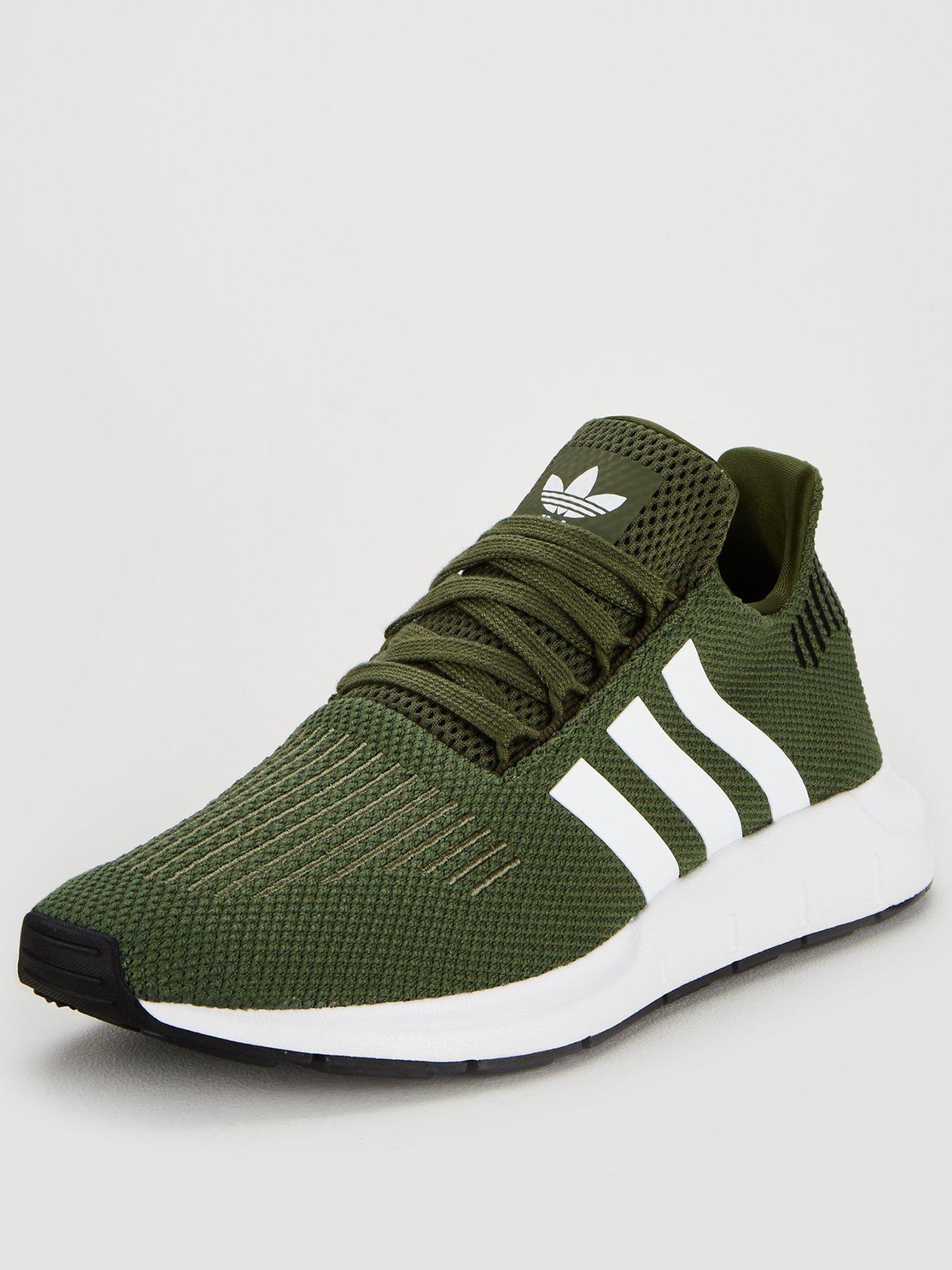 adidas originali swift run green