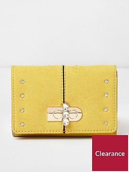river-island-mini-cliptop-purse-yellow