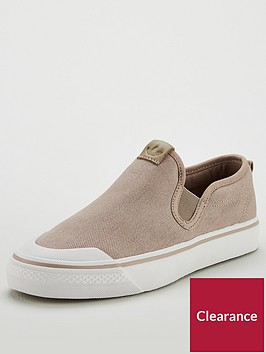adidas-originals-nizza-slip-on-beigenbsp