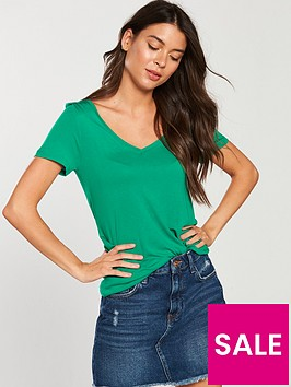 v-by-very-premium-v-neck-t-shirt-apple-green