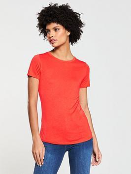 v-by-very-premium-t-shirt-orange