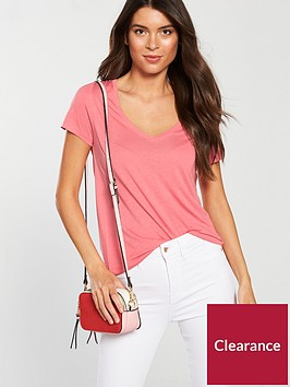 v-by-very-premium-v-neck-t-shirt-bubblegum-pink