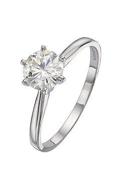 moissanite-18-carat-white-gold-50pt-equivalent-moissanite-solitaire-ring
