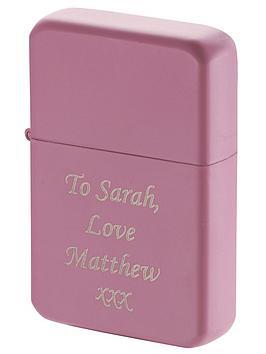 personalised-pink-lighter
