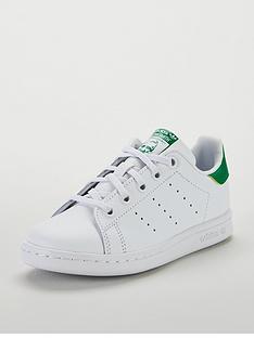adidas-originals-stan-smith-childrens-trainer-whitegreennbsp