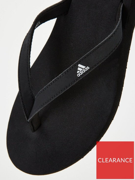 347da861cb16 Home       adidas Eezay Flip-Flop - Black. View larger