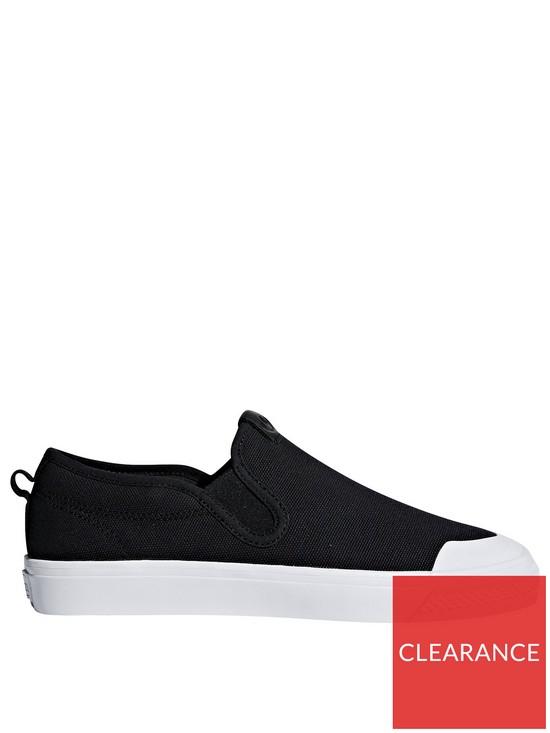 0697d7a051 adidas Originals Nizza Slip On - Black