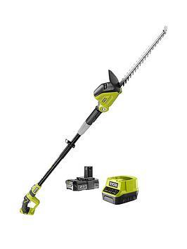 ryobi-ryobi-rpt184520-18v-one-cordless-45cm-pole-hedge-trimmer-starter-kit-1-x-20ah