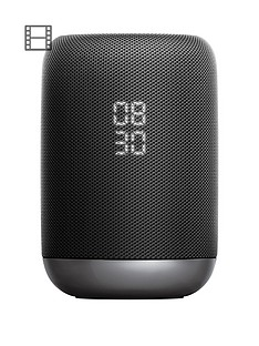Sony LF-S50G Google Assistant Built-in Wireless Smart Speaker with 360 Degree Sound - Black